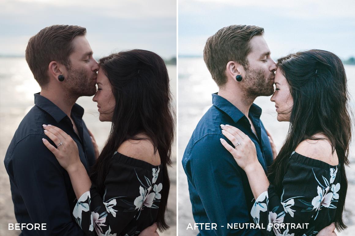 Neutral Portrait- Jessie Raynard Lightroom Presets - FilterGrade