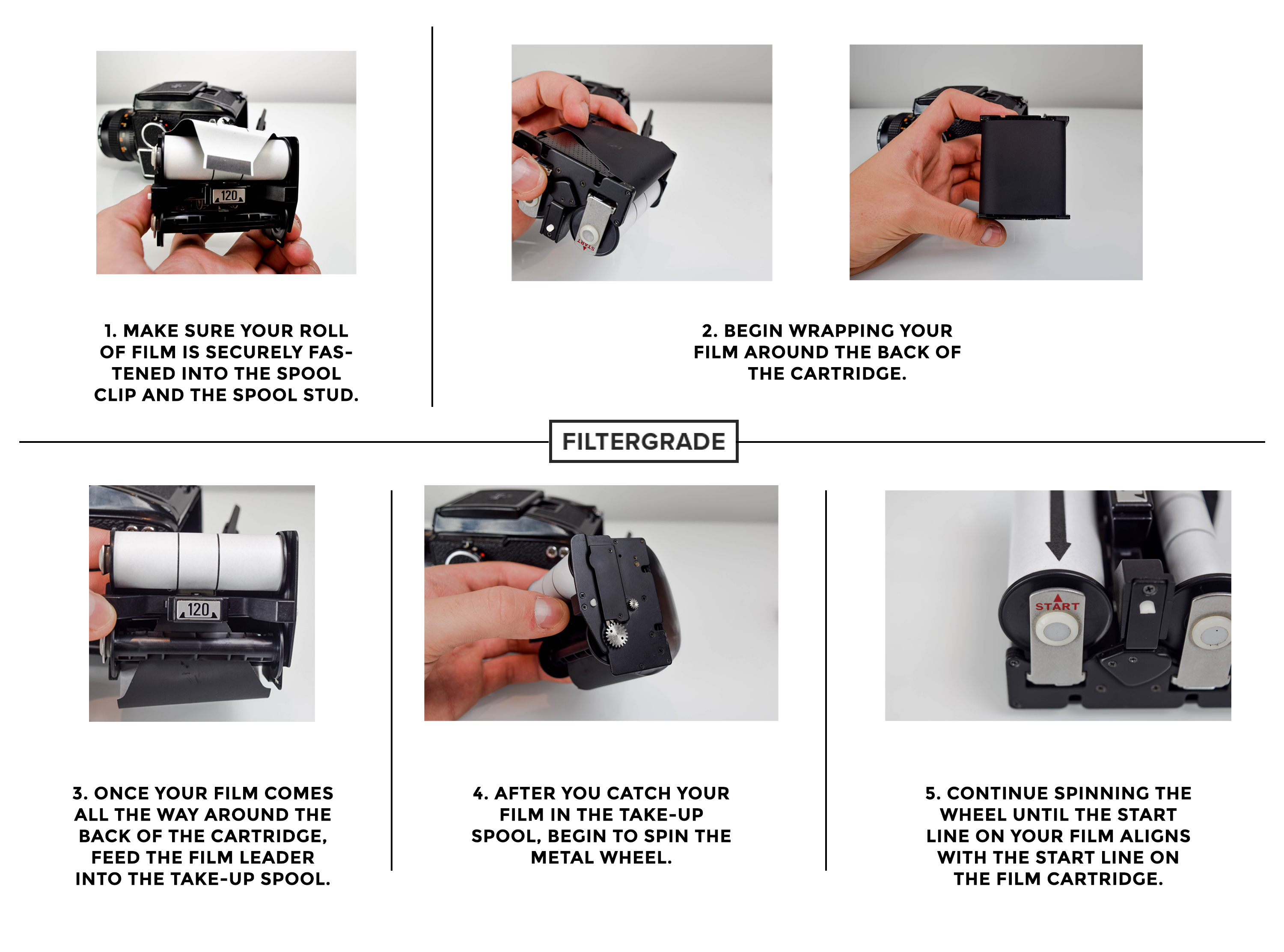 *Demo - How to Load 120mm Film into Your Mamiya M645 - Film Photography - Filtergrade