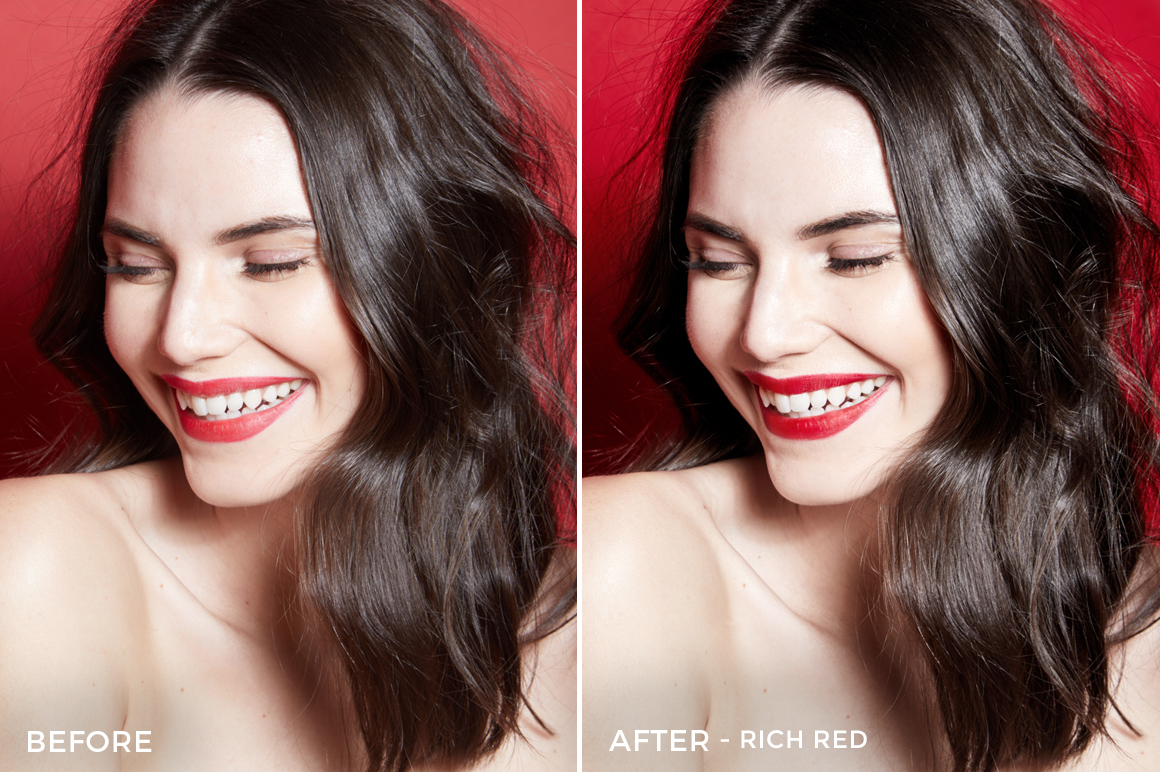 Rich Red - Editorial Series- Studio Light Capture One Styles - Mark Binks - FilterGrade