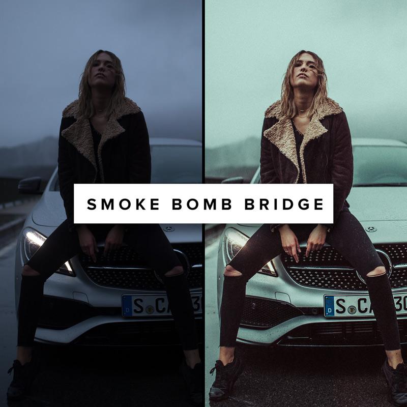 Smoke-Bomb-Bridge---ROAD-TRIP-X-Lightroom-Preset---Basti-Hansen
