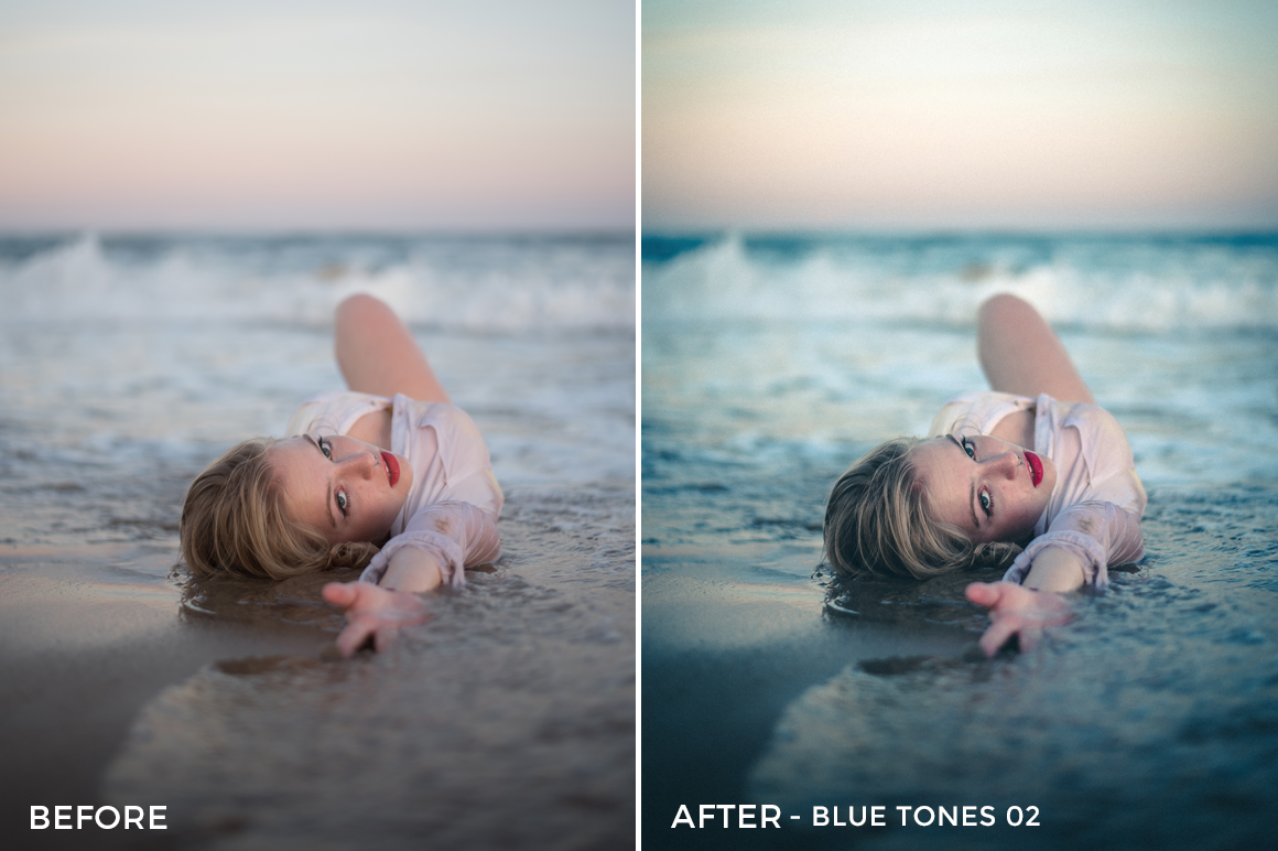 Blue Tones 2 - Aitor Carrera Lightroom Presets - FilterGrade