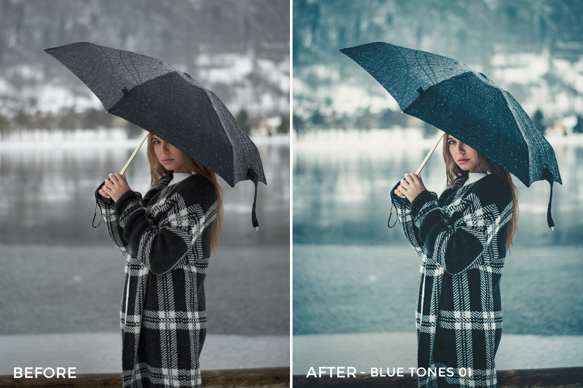 Blue Tones 1 - Aitor Carrera Lightroom Presets - FilterGrade