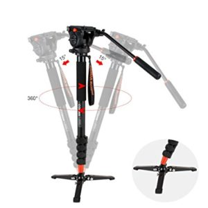 Coman KX3232 - Best Monopods for On-the-Go Photographers - FilterGrade