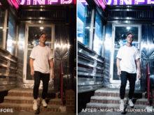 Night Time Fluorescent - Tiffany Chen Nighttime Lightroom Preset - FilterGrade