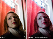 Midnight Moody - Tiffany Chen Nighttime Lightroom Preset - FilterGrade