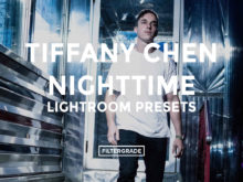 Featured - Tiffany Chen Nighttime Lightroom Preset - FilterGrade