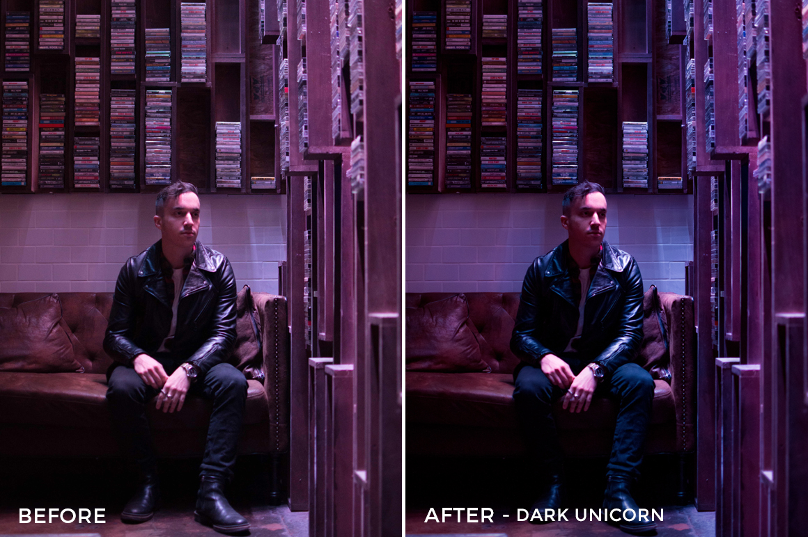 Dark Unicorn - Tiffany Chen Nighttime Lightroom Preset - FilterGrade