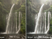 Waterfalls and Palms - Jackson Groves Lightroom Presets - FilterGrade
