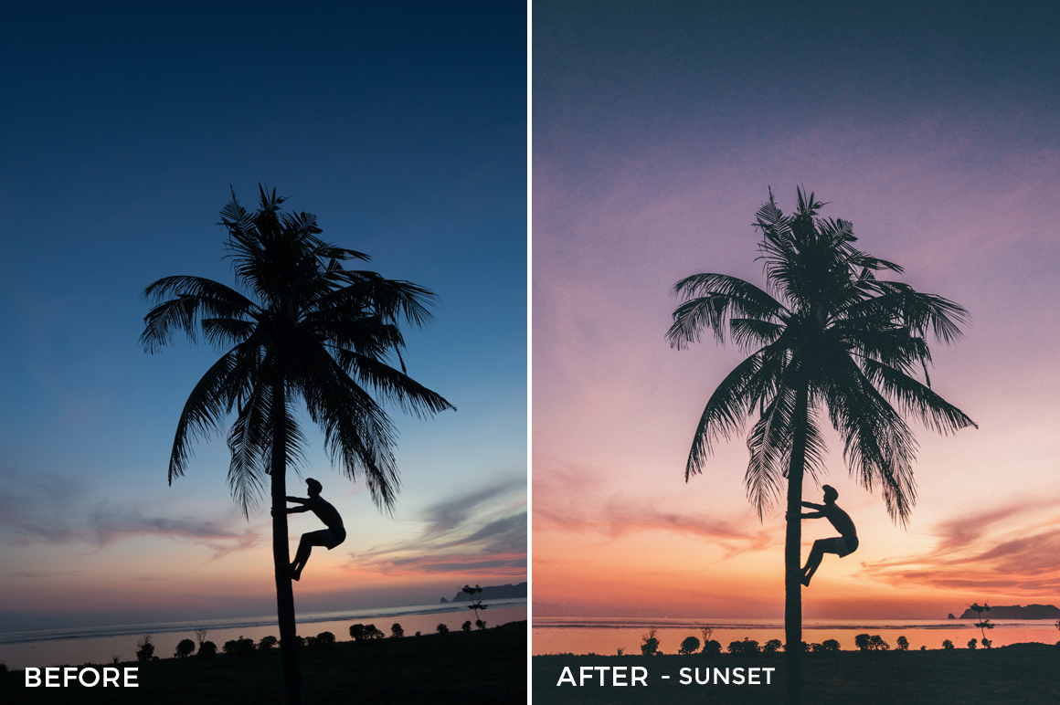 Sunset - Jackson Groves Lightroom Presets - FilterGrade