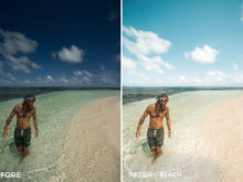 Beach - Jackson Groves Lightroom Presets - FilterGrade