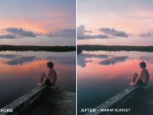 Warm Sunset - Joshua Lynott Lightroom Presets - FilterGrade
