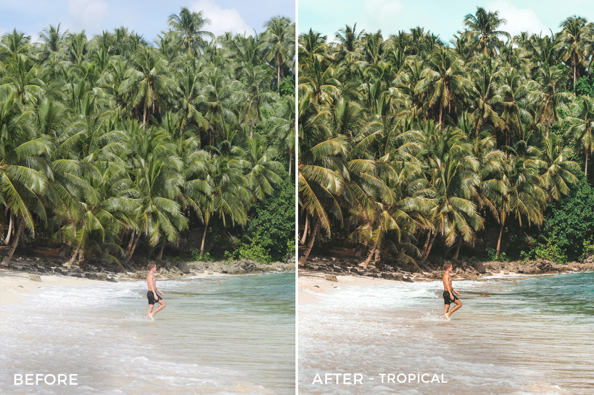 Tropical - Joshua Lynott Lightroom Presets - FilterGrade
