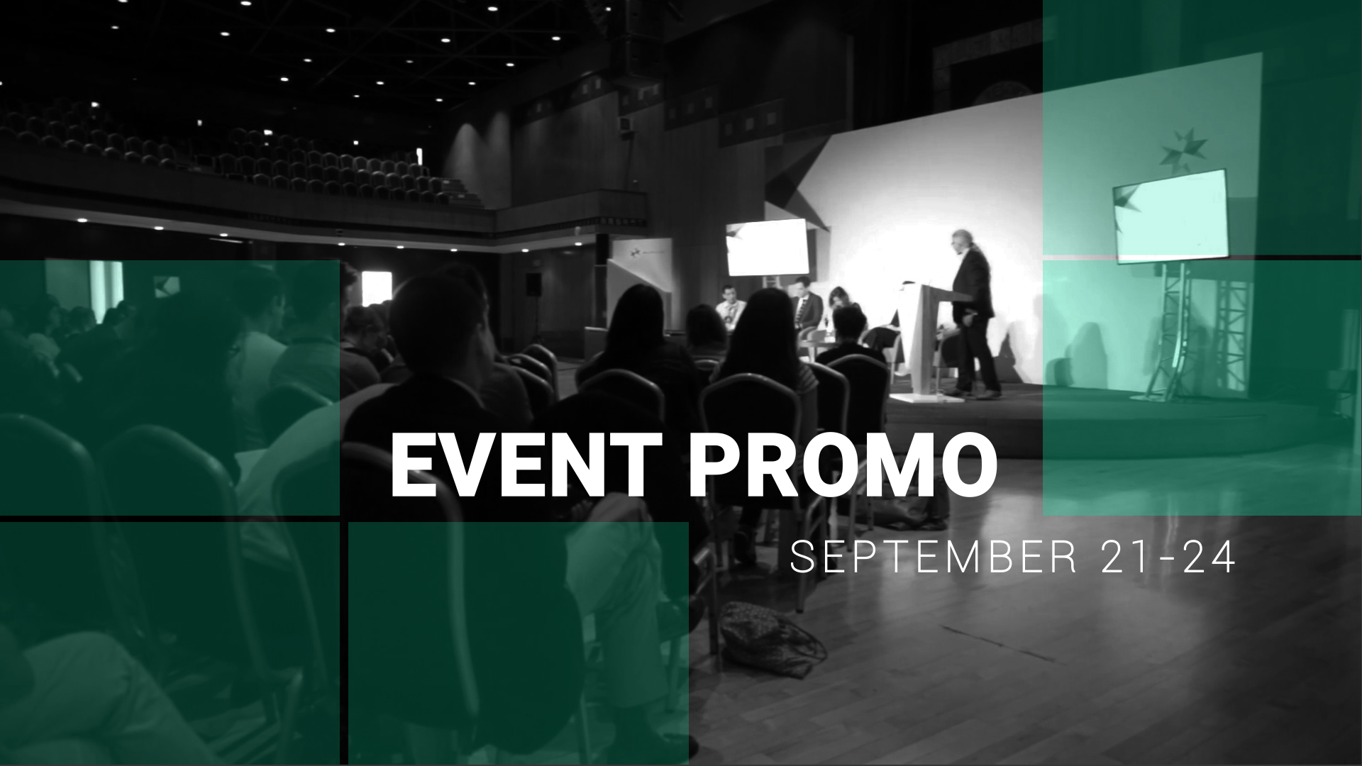 event promo video template after effects