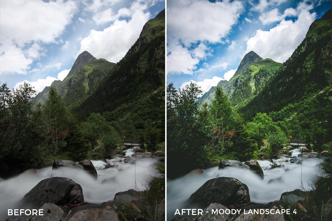 Moody Landscape 4 - Luca Habermann Lightoom Presets - FilterGrade