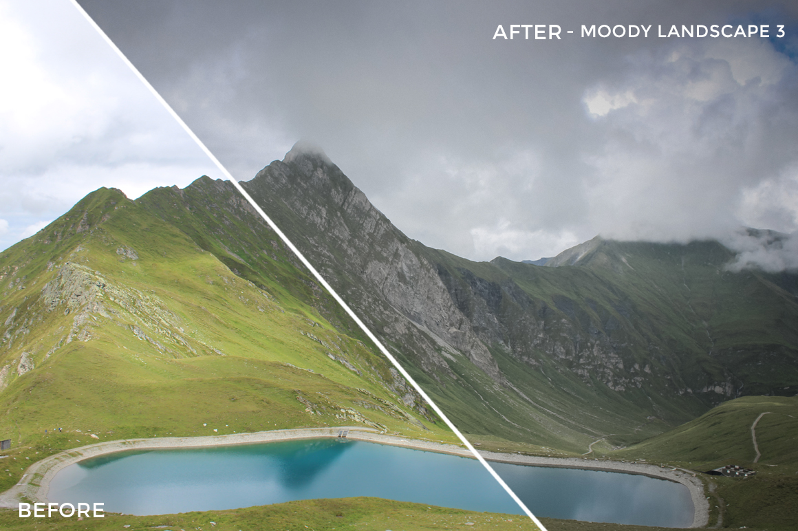Moody Landscape 3 - Luca Habermann Lightoom Presets - FilterGrade
