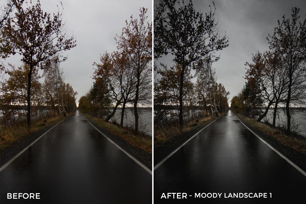 Moody Landscape 1 - Luca Habermann Lightoom Presets - FilterGrade