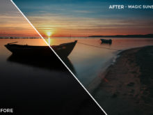 Magic Sunset - Luca Habermann Lightoom Presets - FilterGrade
