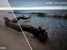 Epic Landscape - Luca Habermann Lightoom Presets - FilterGrade