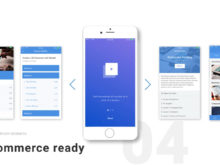 mobile and ecommerce after effects template