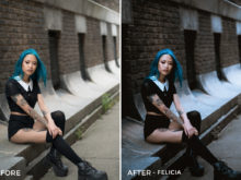 Felicia - Sharath Nair Lightroom Presets - FilterGrade