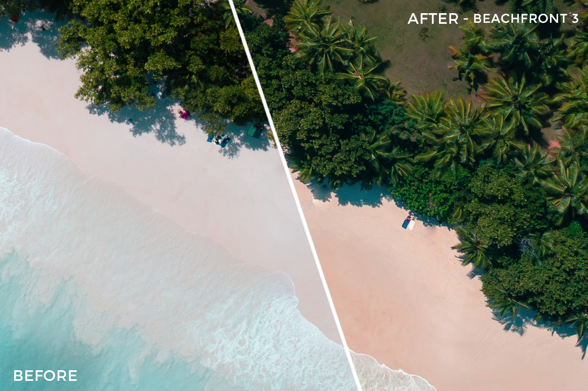 Beachfront 3 - Sabrina Binkert Lightroom Presets - FilterGrade
