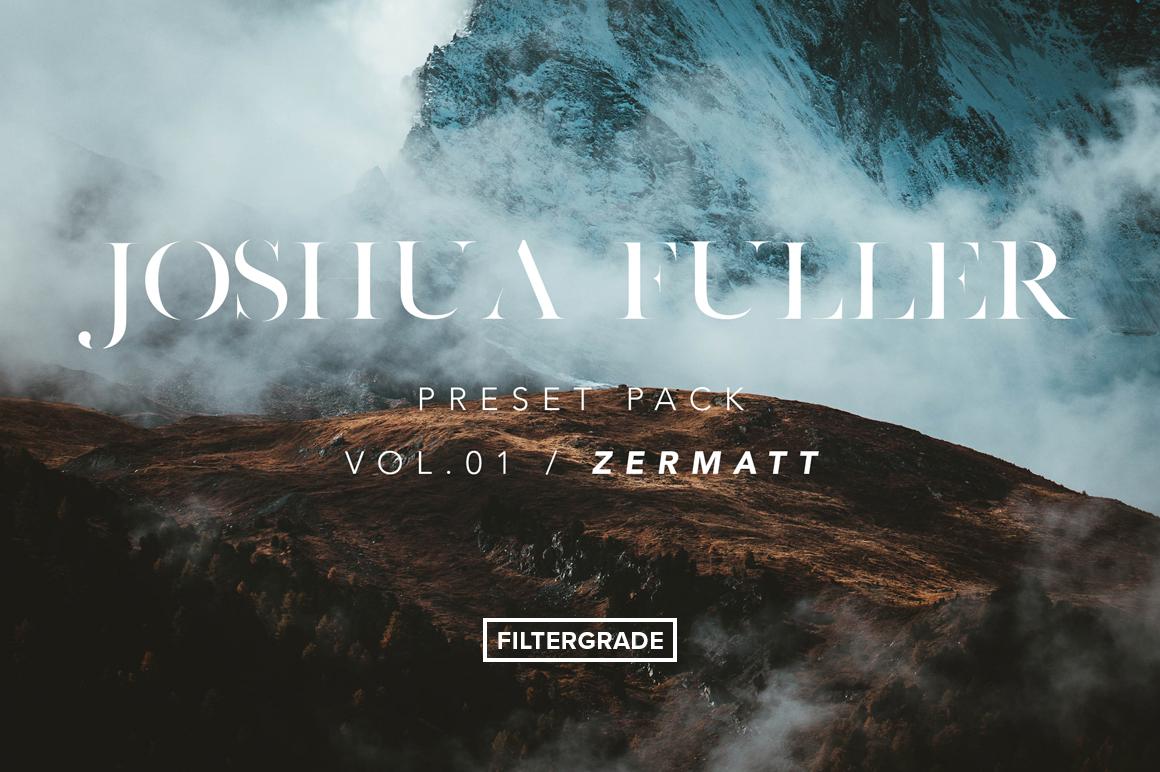 Final - Joshua Fuller Vol.01 Lightroom Presets - FilterGrade