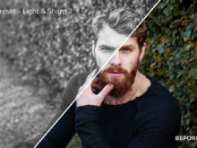 Light & Sharp 2 - Exposure Empire B&W Lightroom Presets - FilterGrade