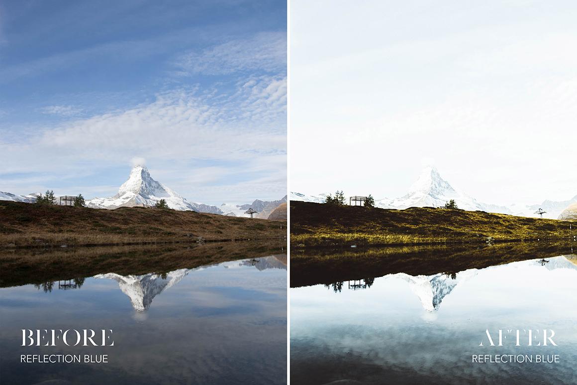 Reflection Blue - Joshua Fuller Lightroom Presets - FilterGrade