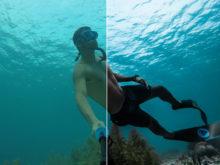 freediving ocean lightroom presets
