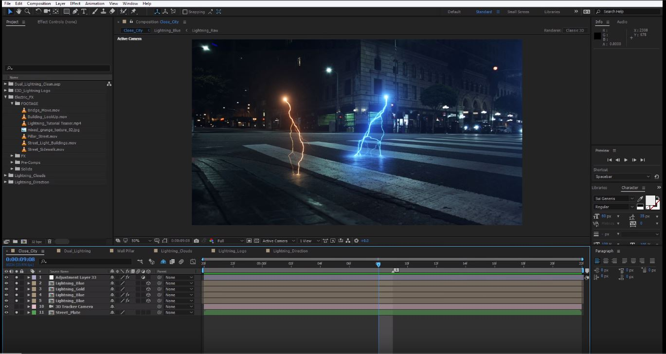 13 Amazing Special Effects Tutorials for After Effects - FilterGrade