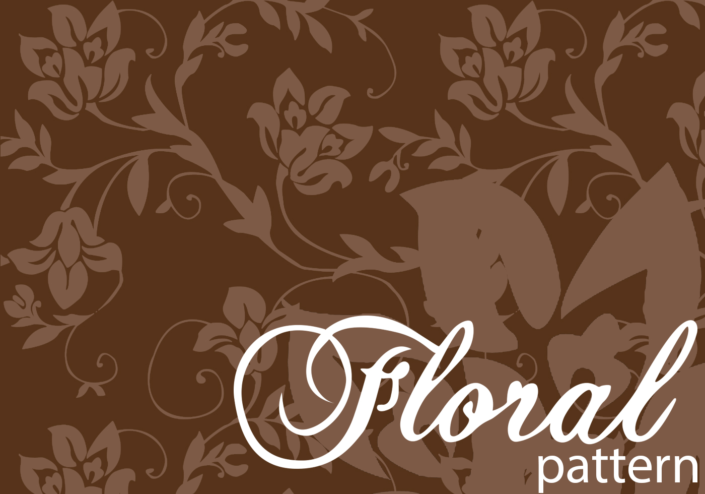free floral photoshop pattern