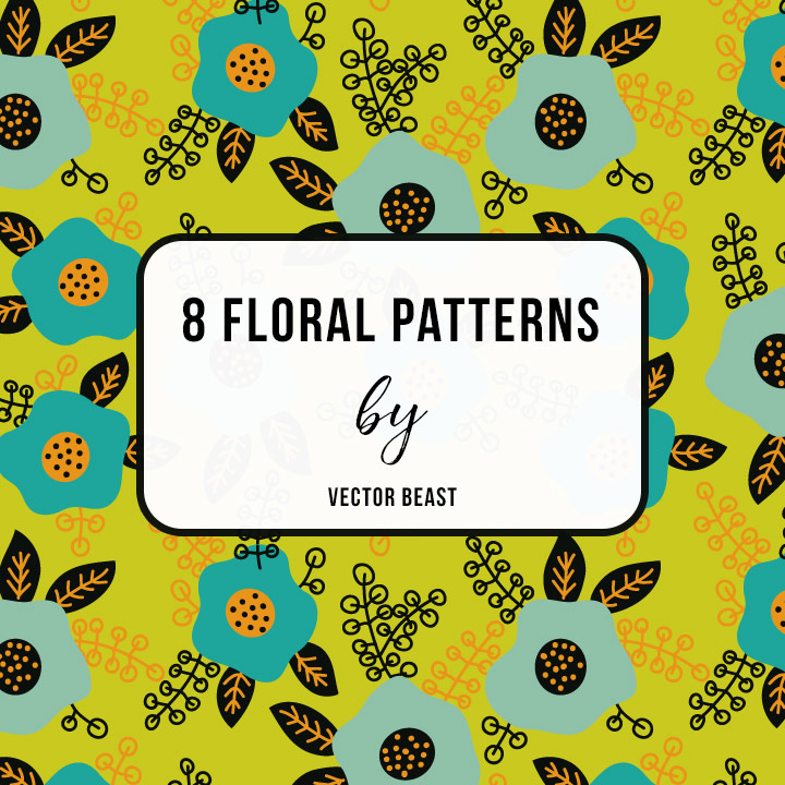 free floral patterns vector beast