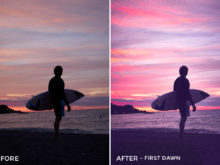 First Dawn - Adventure Series - Heading South Capture One Styles by Mark Binks - FilterGrade