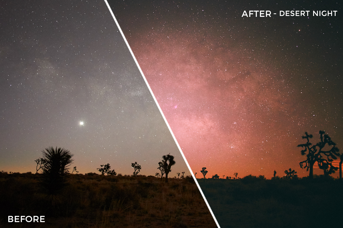 Desert Night - Adventure Series - Heading South Capture One Styles by Mark Binks - FilterGrade