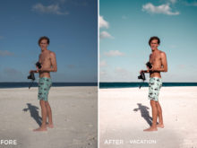 Vacation - Matt Larson Lightroom Presets Vol. 2 - FilterGrade