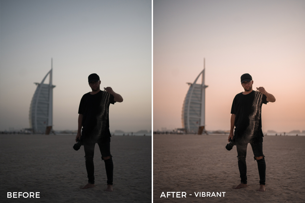 Vibrant - Andrew Livingston Lightroom Presets - FilterGrade