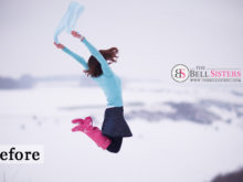 8 Featured - The Bell Sisters Snow Textures Pack - FilterGrade