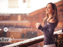 6 Featured - The Bell Sisters Snow Textures Pack - FilterGrade