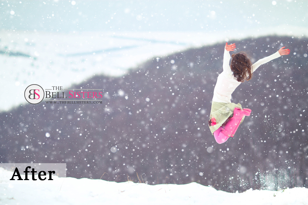 3 Featured - The Bell Sisters Snow Textures Pack - FilterGrade