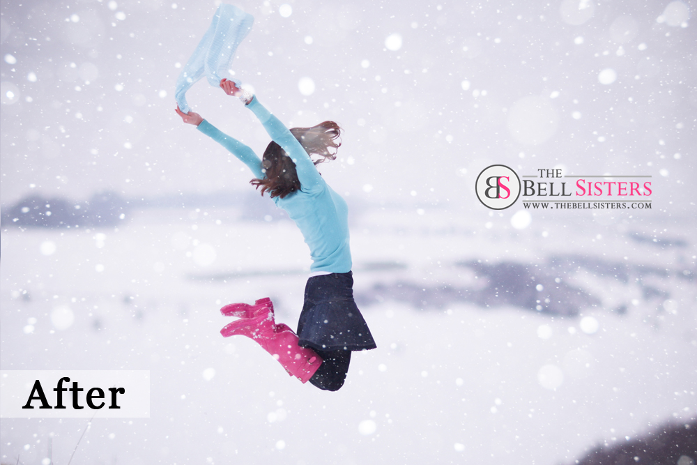 2 Featured - The Bell Sisters Snow Textures Pack - FilterGrade