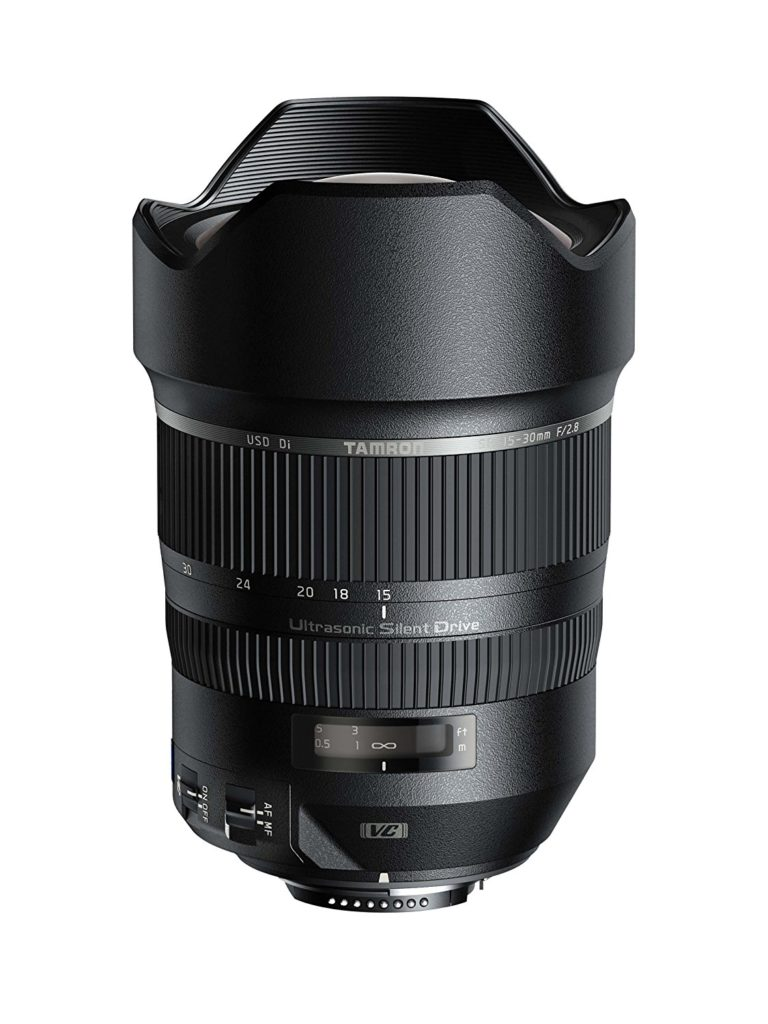 Tamron SP AFA012C700 15-30mm f/2.8 Di VC USD lens for canon