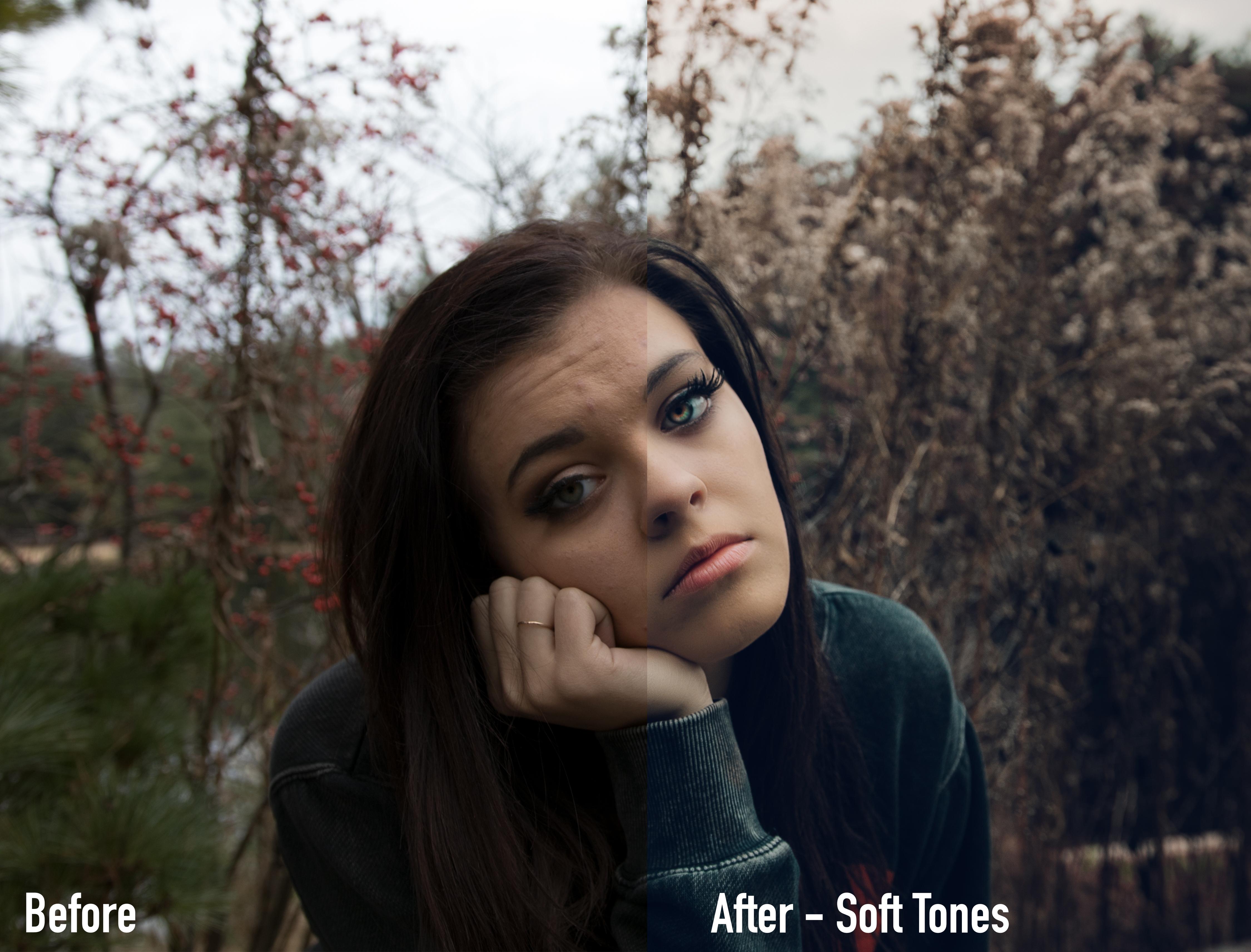 SOFTTONES - Moody Earth Tone Lightroom Presets by Brett Harpster - FilterGrade