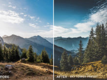Sky Tower Preset- Stephen Karg Xtravagant Essentials Lightroom Presets- FilterGrade