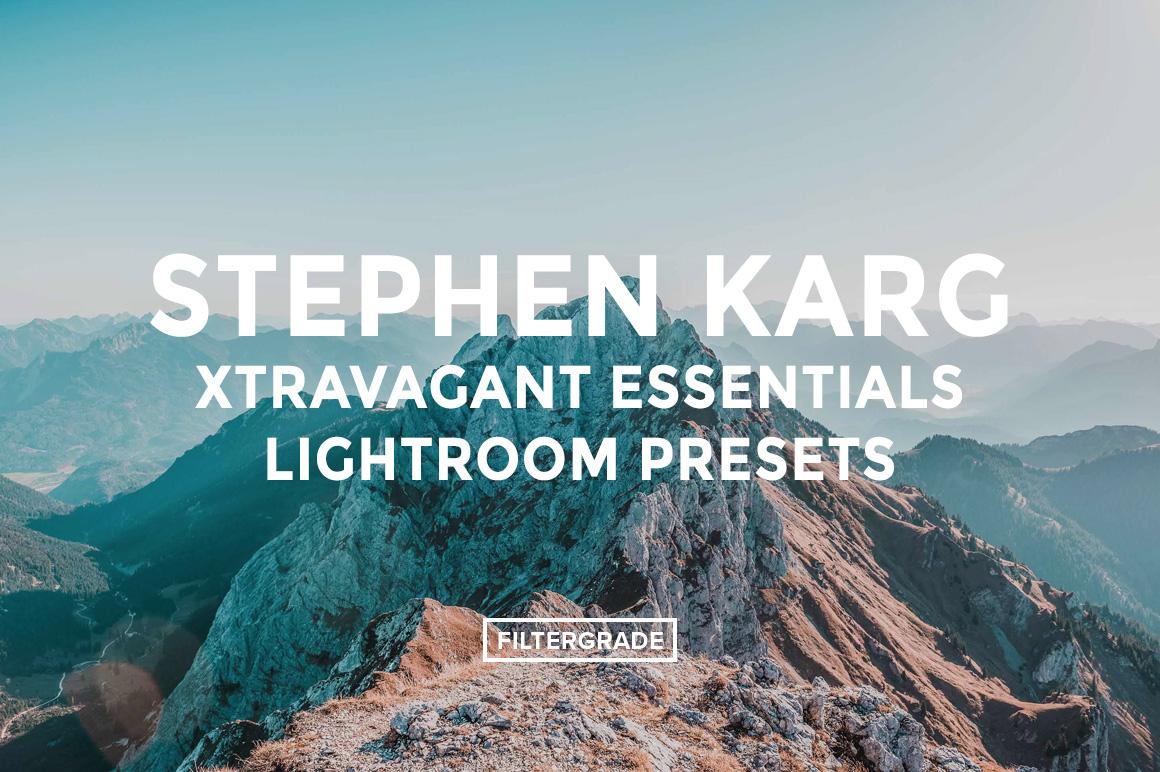 Featured - Stephen Karg Xtravagant Essentials Lightroom Presets- FilterGrade