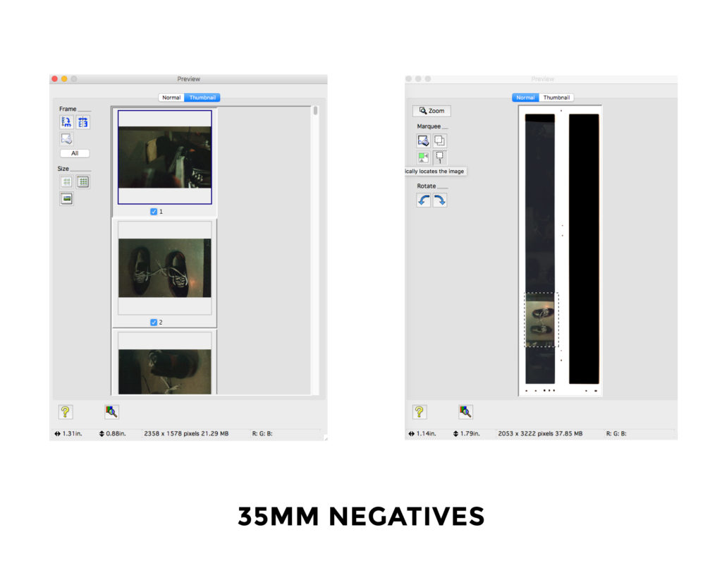 35mm Negatives - Scanning Analog Film with the Epson Perfection v550 Photo Scanner - FilterGrade