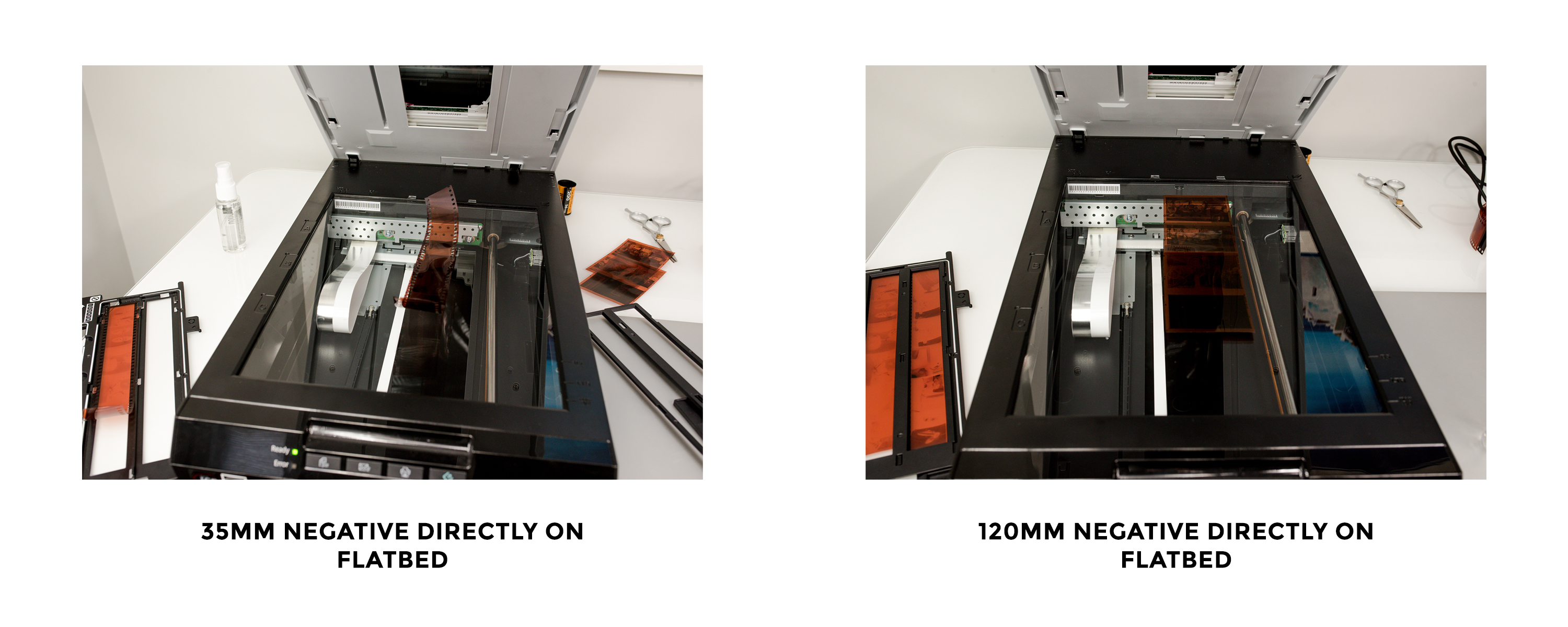 Directly on Flatbed - Scanning Analog Film with the Epson Perfection v550 Photo Scanner - FilterGrade