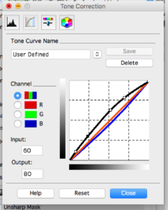 Tone Curve Tool - Scanning Analog Film with the Epson Perfection V550 Photo Scanner - FilterGrade