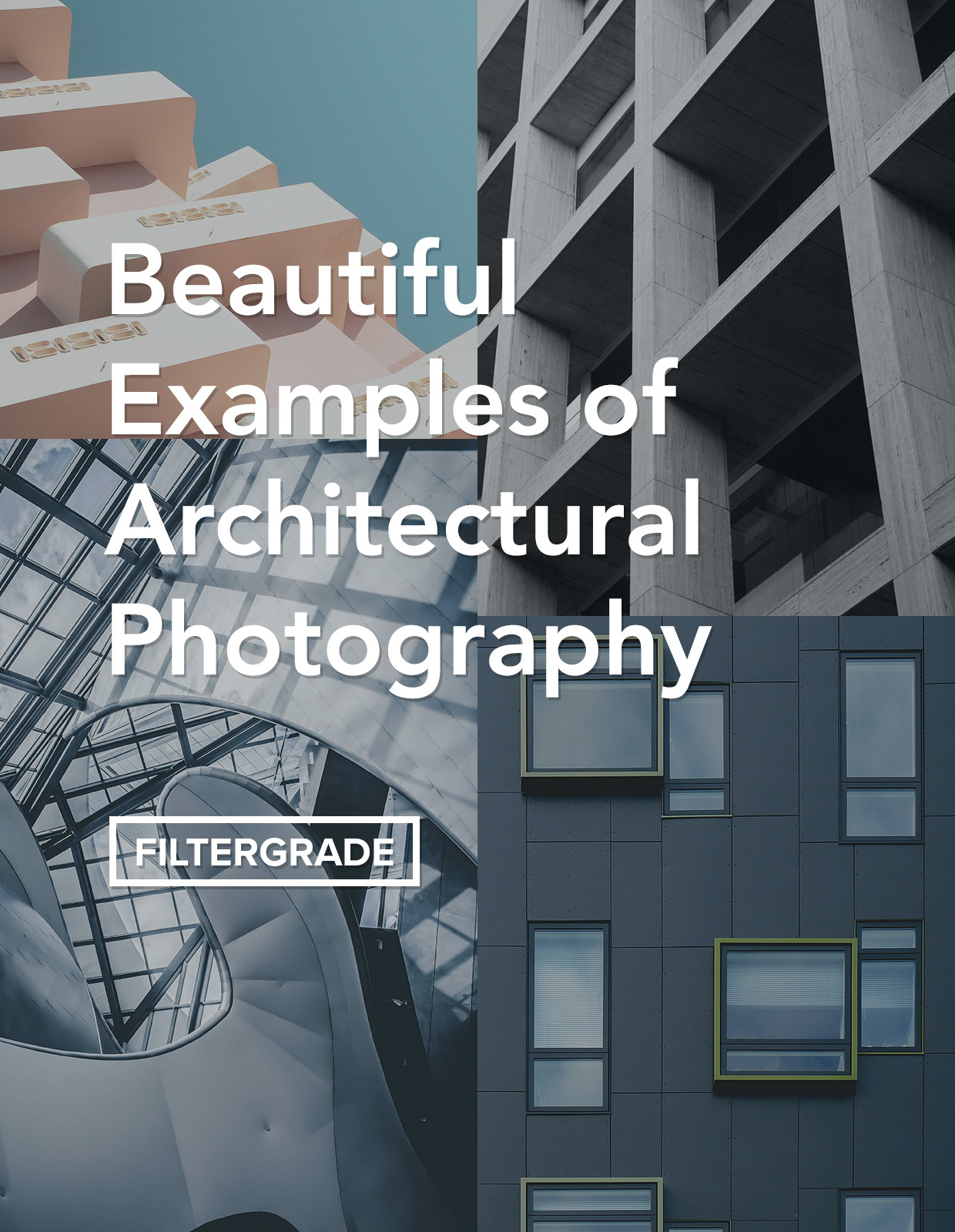 Beautiful examples of architectural photography.