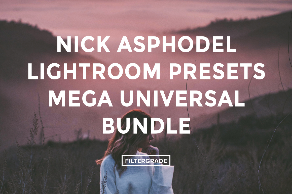 * Nick Asphodel Lightroom Presets Mega Universal Bundle - FilterGrade