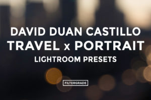 * David Duan Castillo Travel x Portrait Lightroom Presets - FilterGrade